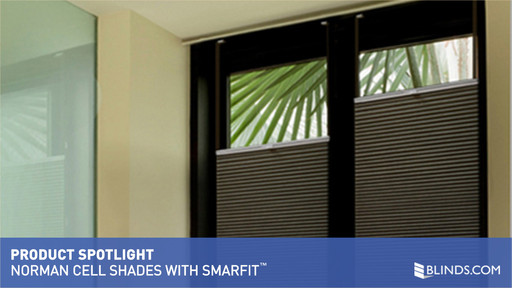 Norman Cellular Shades with SmartFit™ - image 1 from the video