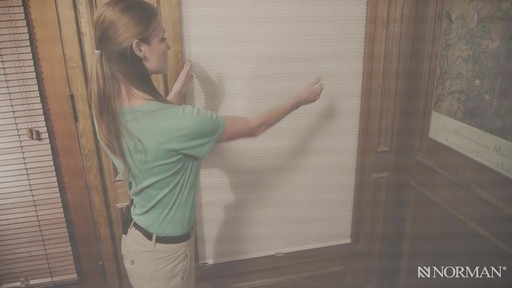 Norman Cellular Shades with SmartFit™ - image 4 from the video