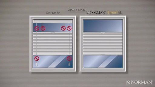Norman Cellular Shades with SmartFit™ - image 5 from the video