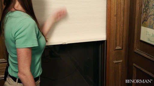 Norman Cellular Shades with SmartFit™ - image 7 from the video