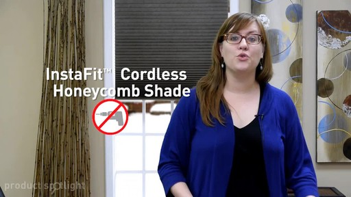 Blinds.com InstaFit™ Cordless Honeycomb Shade - Install with No Tools! - image 2 from the video