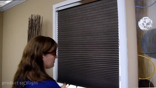 Blinds.com InstaFit™ Cordless Honeycomb Shade - Install with No Tools! - image 8 from the video