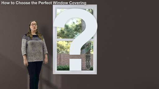 How to Choose the Perfect Window Covering - image 4 from the video