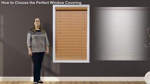 How to Choose the Perfect Window Covering - image 7 from the video