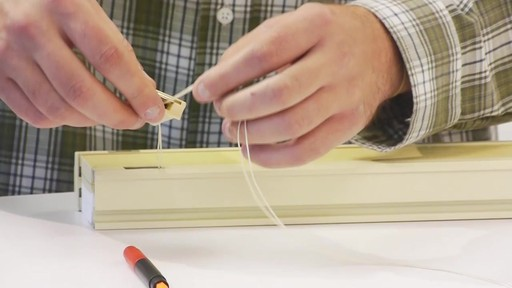 How To Replace A Cord Lock On A Bali Or Graber Cell Shade