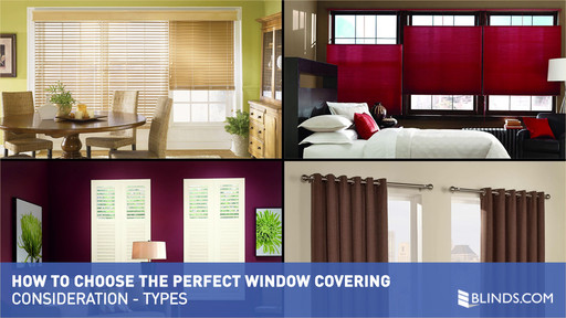 How To Choose Types Of Window Coverings How