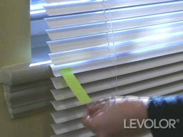 diy how to shorten levolor aluminum blinds levolordiyshortenalum how. Black Bedroom Furniture Sets. Home Design Ideas