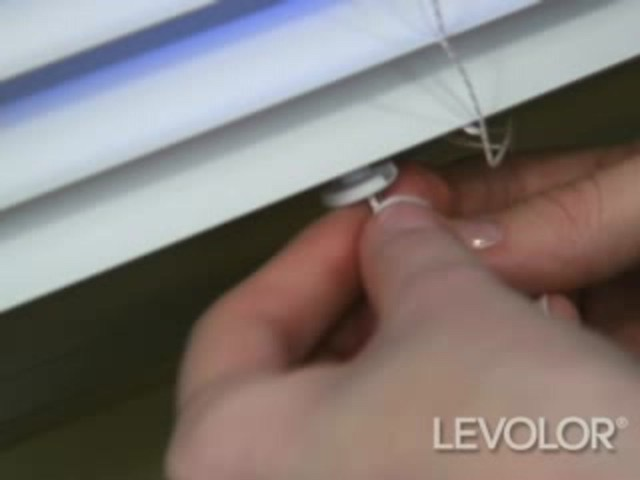 How to Shorten Mini Blinds - Levolor Aluminum and Vinyl Blinds - image 7 from the video