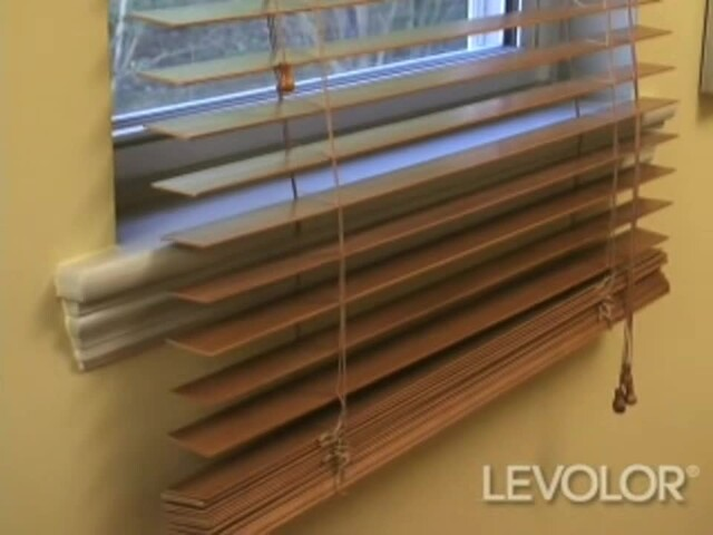 How To Shorten Levolor Wood And Faux Wood Blinds Video