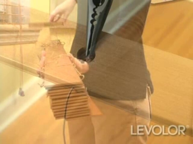 How to Shorten Blinds Video - Levolor Wood and Faux Wood Blinds - Blinds.com DIY - image 6 from the video