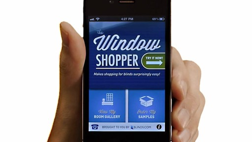 The Window Shopper App for iPhone from Blinds.com - image 1 from the video