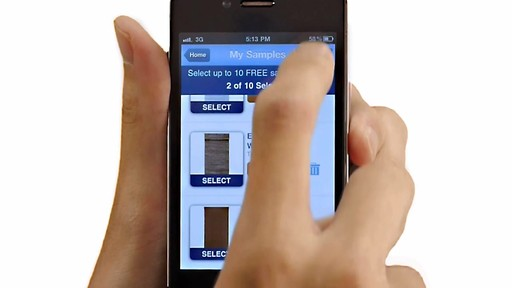 The Window Shopper App for iPhone from Blinds.com - image 9 from the video
