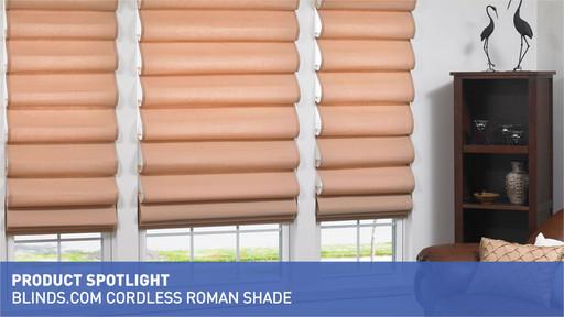 Cordless Roman Shade Product Spotlight Blinds Com