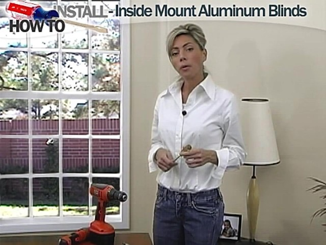 How to Install Aluminum Blinds Video - Inside Mount - image 1 from the video