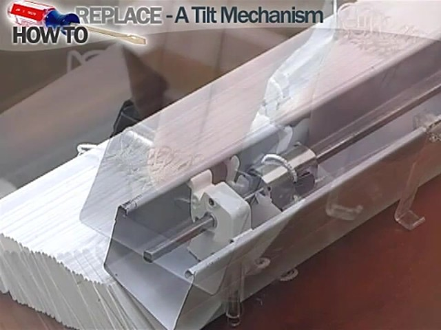 How to Fix Blinds: Replace a Tilt Mechanism - Blinds.com DIY - image 10 from the video