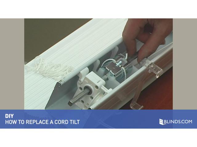 How To Fix Blinds Replace A Tilt Mechanism