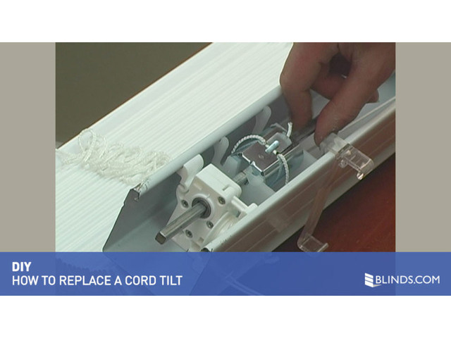 How to Fix Blinds: Replace a Tilt Mechanism - Blinds.com DIY - image 5 from the video