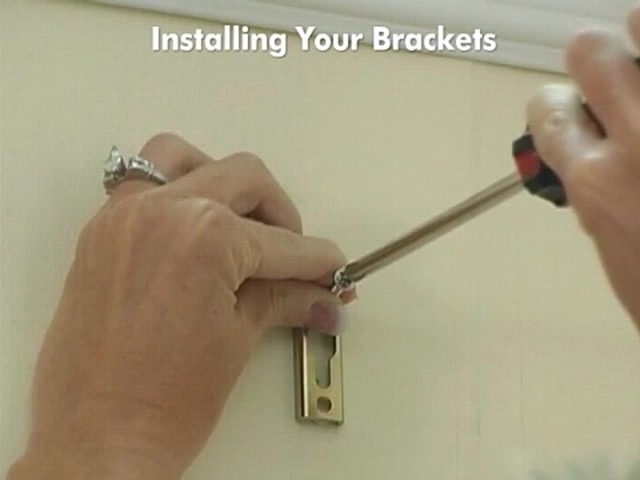 How to Install Drapery Panels Video - Rod Pocket Window Curtains - image 4 from the video