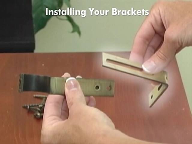 How to Install Drapery Panels Video - Rod Pocket Window Curtains - image 5 from the video