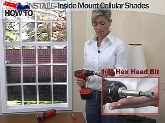 How to Install Inside Mount Cellular Shades - image 2 from the video