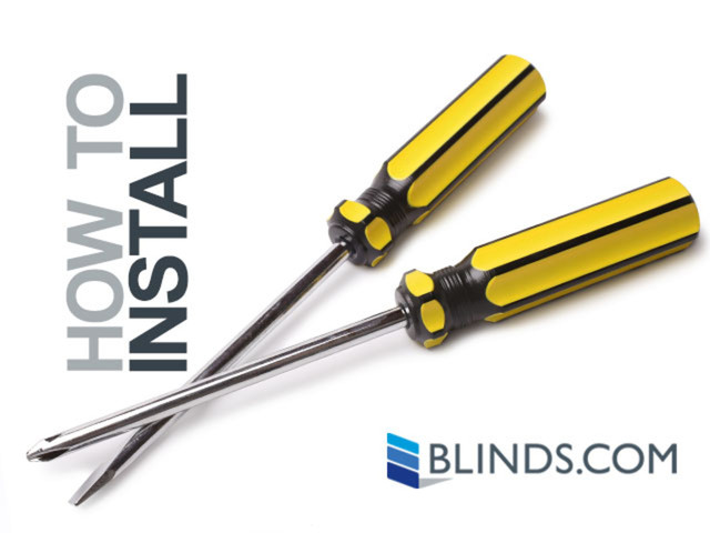 How to Install Inside Mount Cellular Shades - Blinds.com - image 3 from the video