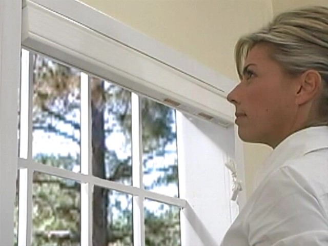 How to Install Inside Mount Cellular Shades - image 8 from the video