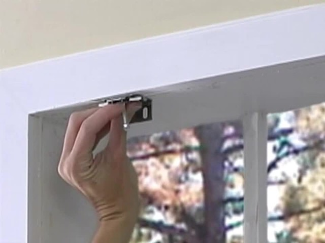How to Install Roman Shades - Inside Mount - image 5 from the video