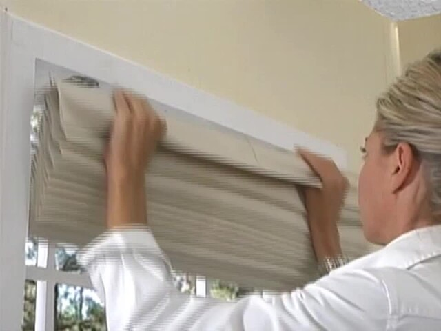 How to Install Roman Shades - Inside Mount - image 7 from the video