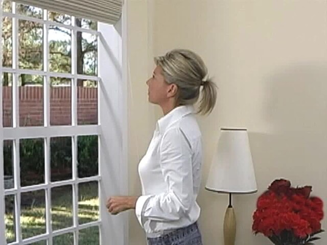 How to Install Roman Shades - Inside Mount - image 8 from the video