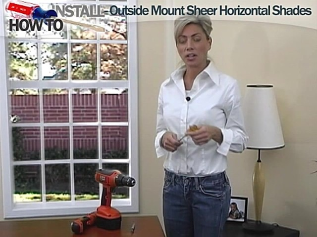 How to Install Sheer Horizontal Shades - Outside Mount - image 1 from the video