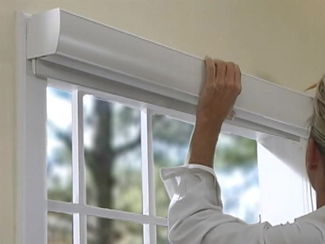 How to Install Sheer Horizontal Shades - Outside Mount - image 4 from the video