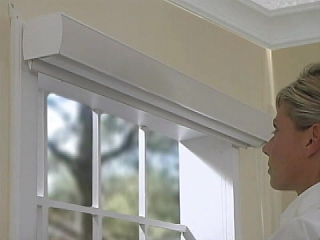 How to Install Sheer Horizontal Shades - Outside Mount - image 7 from the video