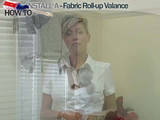 How to Install a Window Valance Video - Laura Ashley Roll Up Valance - Blinds.com DIY  - image 1 from the video