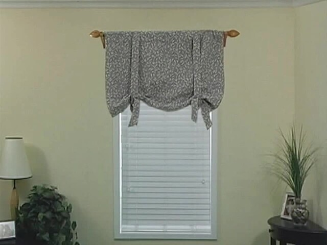 How to Install a Window Valance Video - Laura Ashley Roll Up Valance - Blinds.com DIY  - image 5 from the video