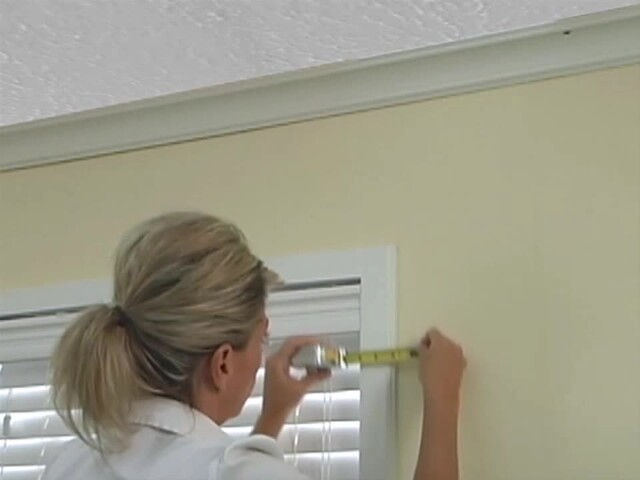 How to Install a Window Valance Video - Laura Ashley Roll Up Valance - Blinds.com DIY  - image 6 from the video