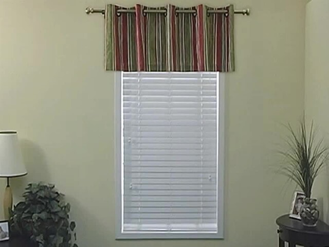 How to Install a Grommet Valance - Blinds.com - image 2 from the video