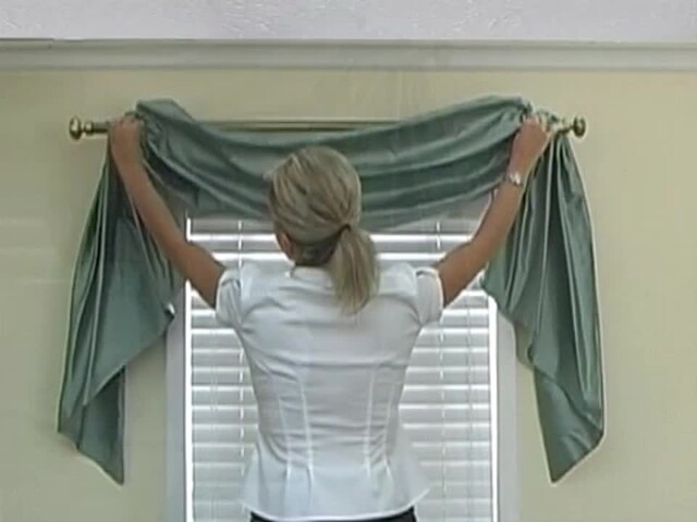 How to Install a Swag Valance - Blinds.com Fabric Valance DIY - image 10 from the video