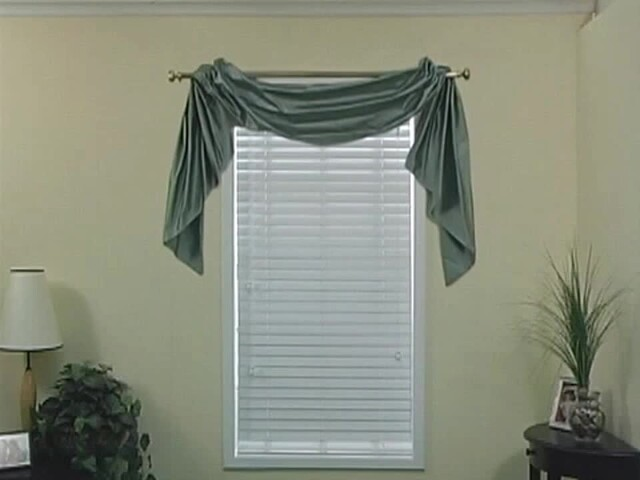 How to Install a Swag Valance - Blinds.com Fabric Valance DIY - image 4 from the video