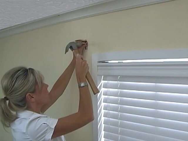 How to Install a Swag Valance - Blinds.com Fabric Valance DIY - image 5 from the video