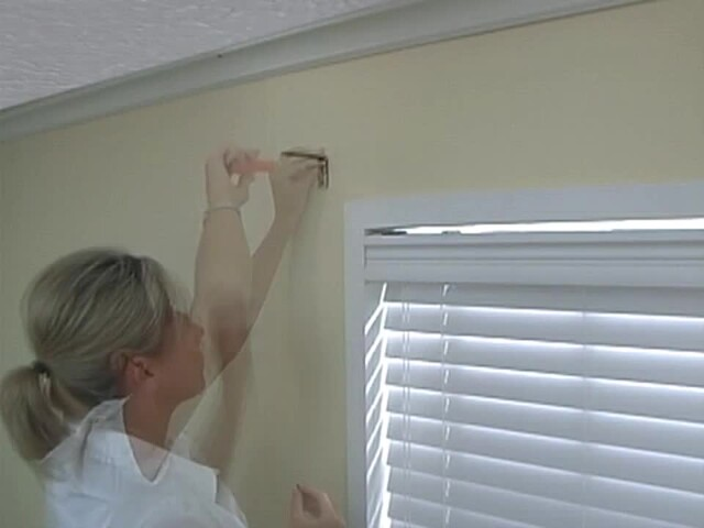 How to Install a Swag Valance - Blinds.com Fabric Valance DIY - image 6 from the video