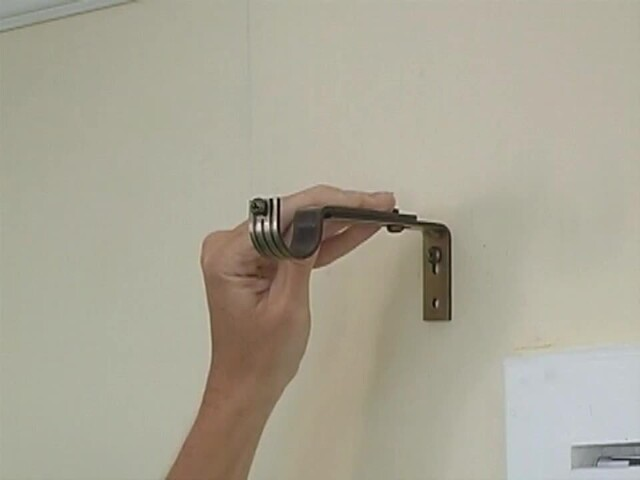 How to Install a Swag Valance - Blinds.com Fabric Valance DIY - image 7 from the video