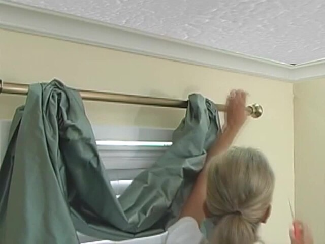 How to Install a Swag Valance - Blinds.com Fabric Valance DIY - image 8 from the video