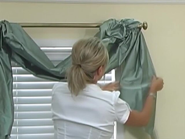 How to Install a Swag Valance - Blinds.com Fabric Valance DIY - image 9 from the video