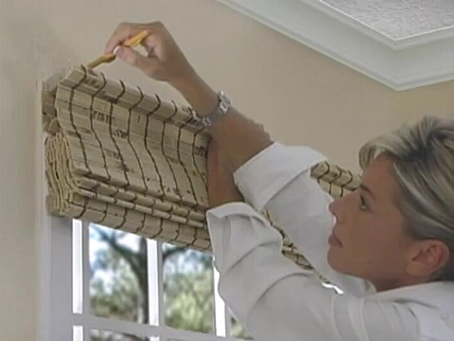 How To Install Outside Mount Woven Wood Shades 187 Video Gallery