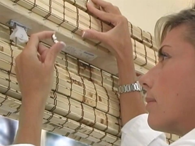 How to Install Outside Mount Woven Wood Shades - image 8 from the video