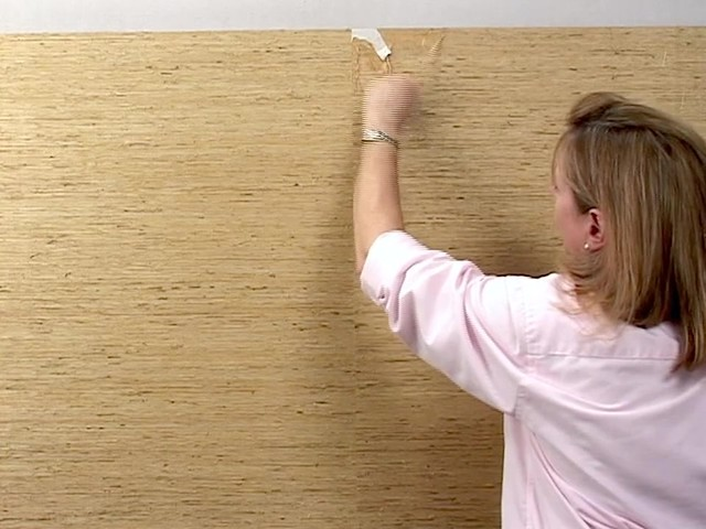 Wallpaper Removal   Grasscloth Wallcovering   image 3 from the video