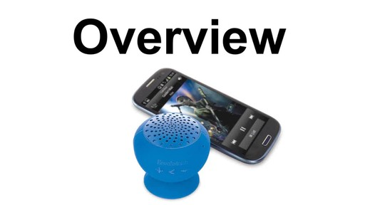 Overview: Bop Bluetooth Speaker - image 1 from the video