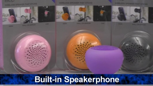 Overview: Bop Bluetooth Speaker - image 8 from the video
