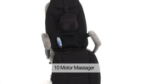 10-Motor Massaging Lounge Topper w/ Heat - image 10 from the video