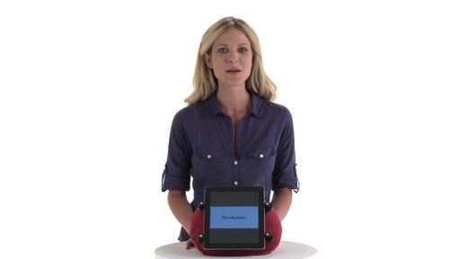 eComfort Tablet Pillow - image 2 from the video